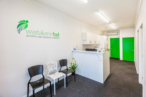 Waitakere Foot Henderson clinic reception